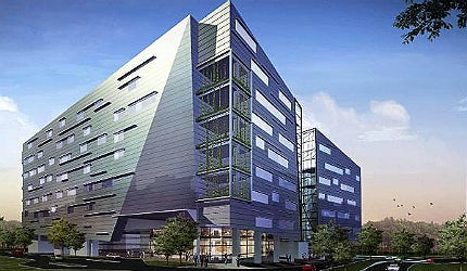 The Biopolis in Singapore is a custom-built biomedical research and development hub at One-North, Buona Vista
