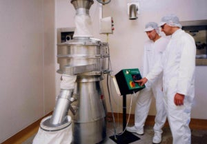 GSK is improving process efficiency in the production of pharmaceutical powders at its Centre of Excellence plant in Dartford, Kent, by investing in nine new industrial pharmaceutical sieves fitted with the Vibrasonic deblinding system from Russell Finex.