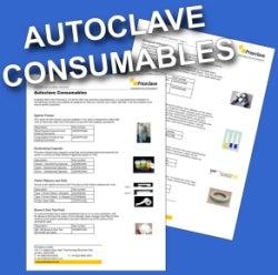 Autoclave consumables documentation