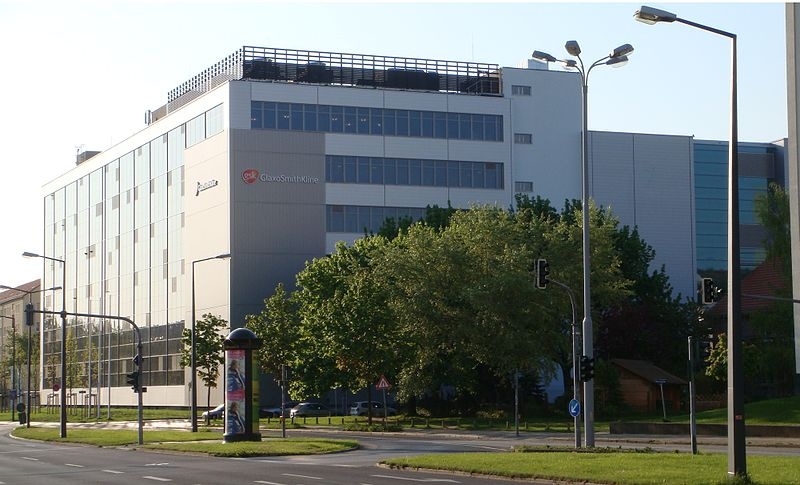 Image: The GlaxoSmithKline Biologicals facility in Dresden, Germany. Photo courtesy of wikipedia.