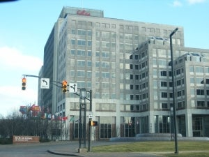 Eli Lilly and Company headquarters located in Indianapolis, Indiana.