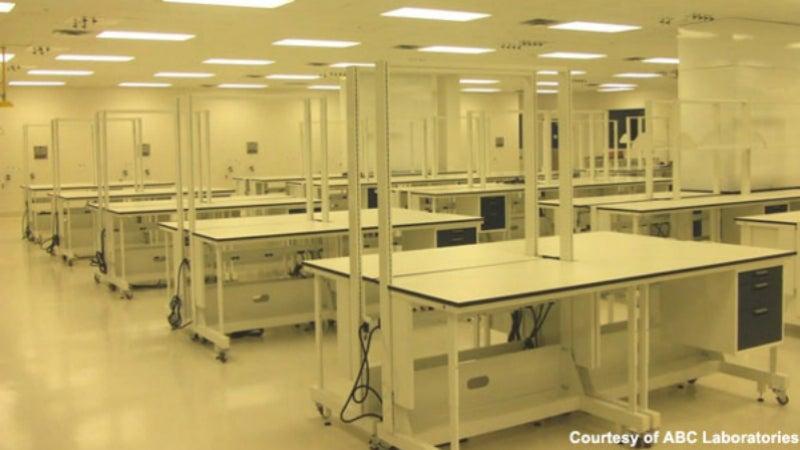 ABC Laboratotories opens new facility in 2008