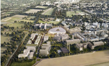 The proposed site will be located on the Cambridge Biomedical Campus (CBC) in Cambridge, UK.