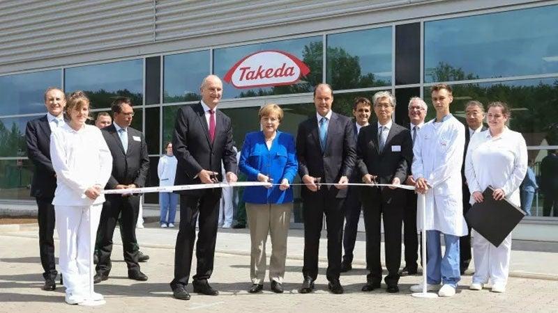 Pharmaceutical production facility Takeda