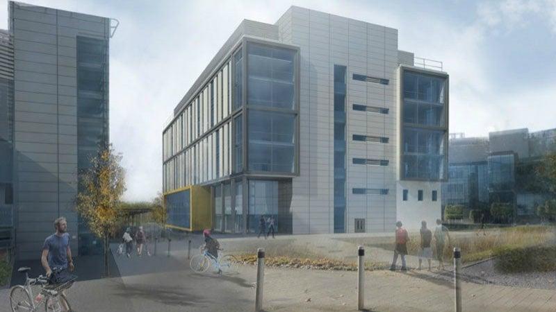 Laboratory building at Cambridge Biomedical Campus