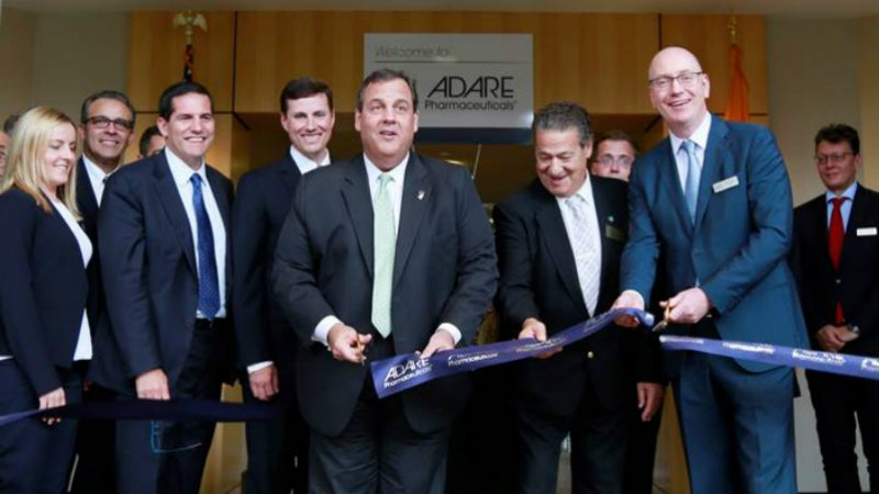 Adare Pharmaceuticals Opens New Corporate Headquarters.