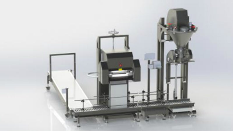Flexible packaging and filling and sealing equipment.