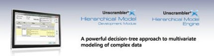 The software uses a decision-tree approach, making the modelling of non-linear data efficient and robust.