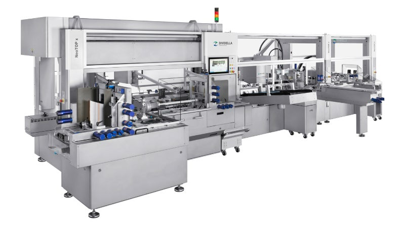 NeoTOP x system provides modular, semi, and fully automated packaging