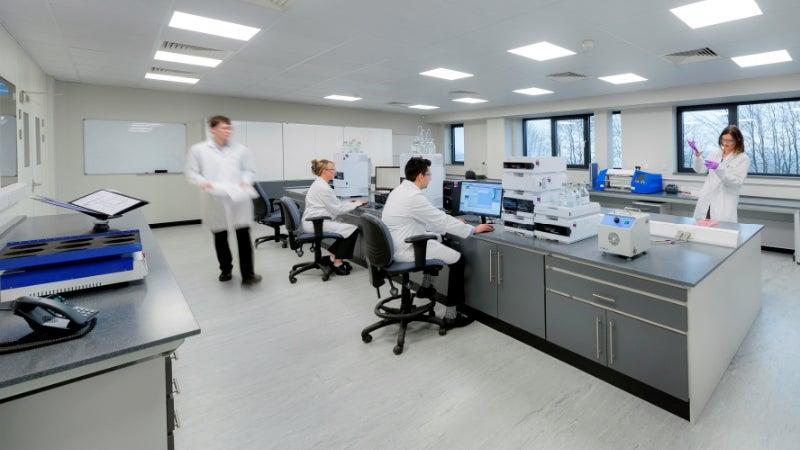 H&T Presspart's laboratory.