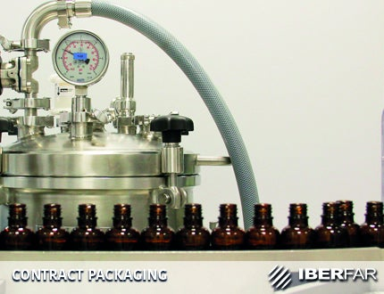 IBERFAR performs contract packaging of medicines and health products.