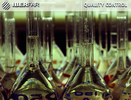 IBERFAR develops quality control activities under products that are ready for release in the European market (EU batch releases).