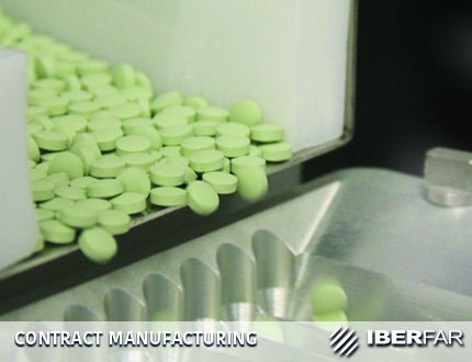 IBERFAR manufactures high-quality solid and liquid dosage forms for third parties that have distinctive competencies and flexibility for customers.