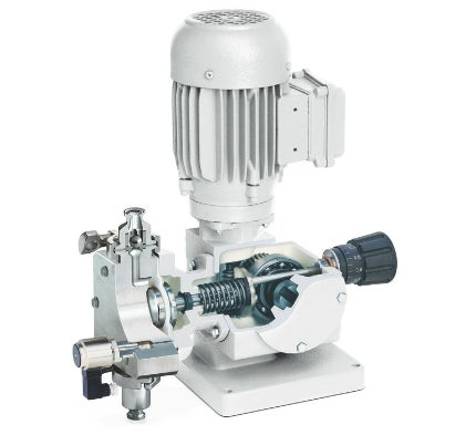 Ecodos sanitary hygienic diaphragm metering pump pharmaceutical lewa ecodos sanitary hygienic is an absolutely safe economical and multi option metering pump with mechanically actuated diaphragm ccuart Gallery