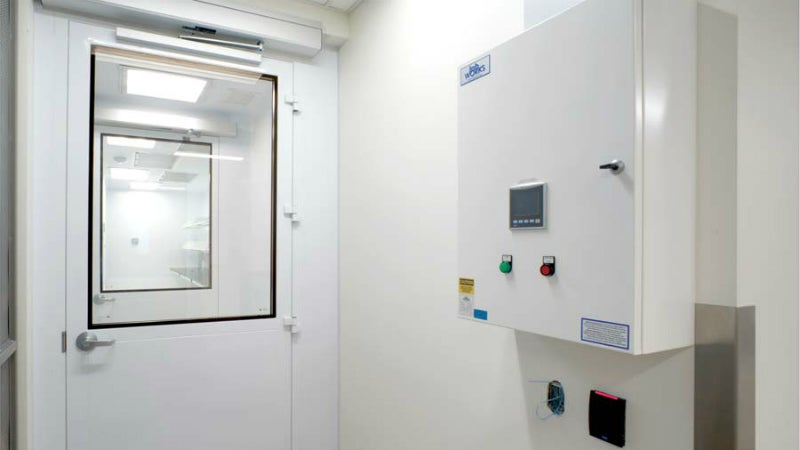 Custom cleanrooms for research
