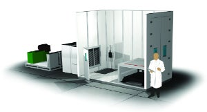 The Advantage Transport Simulation Laboratory studies the impact of temperature, humidity, pressure, shock and vibration.