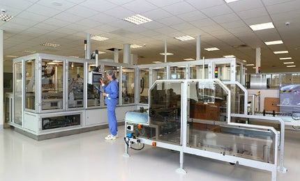 The facility produces high-quality insulin for the treatment of diabetes.