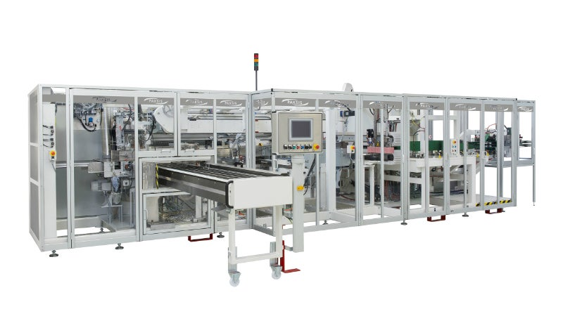 New packaging machine for diapers