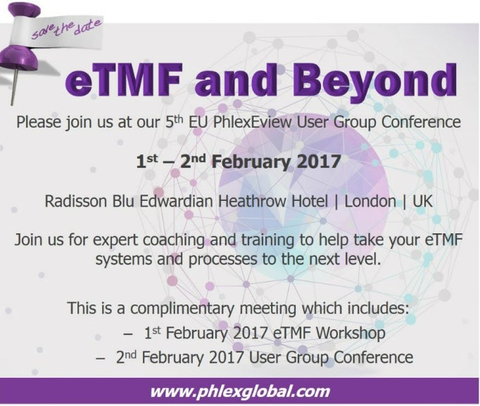 eTMF and Beyond