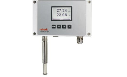 The HF5 series is compatible with HygroClip2 probes with integrated AirChip3000 technology.