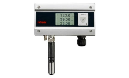 The PF4 series uses a thermal measurement technique to enable top-precision measurements.