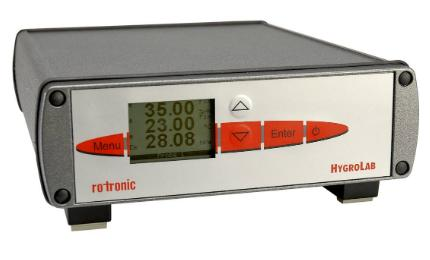 The HygroLab C1 is designed for water activity measurements with up to four probes.
