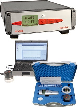 A water activity measurement product.
