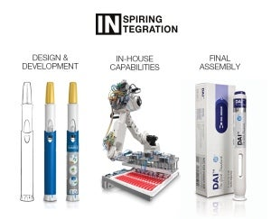 With the biopharmaceutical industry's drug delivery landscape quickly adapting to the introduction of several biologics drugs in recent years, a range of new devices such as pen and auto injectors have also been introduced to improve administration, safety and accuracy for end-users.