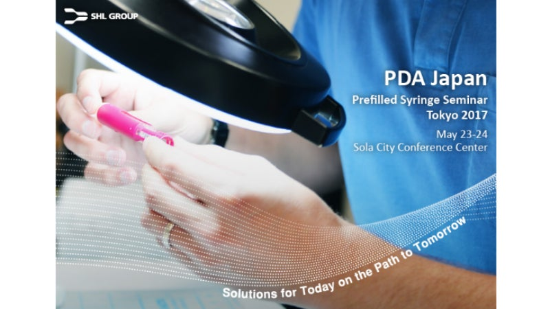 Prefilled Syringes Seminar in Tokyo