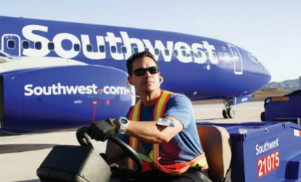 Southwest Airlines provides an expedited air cargo service for pharmaceuticals using more than 3,500 flights across their network.
