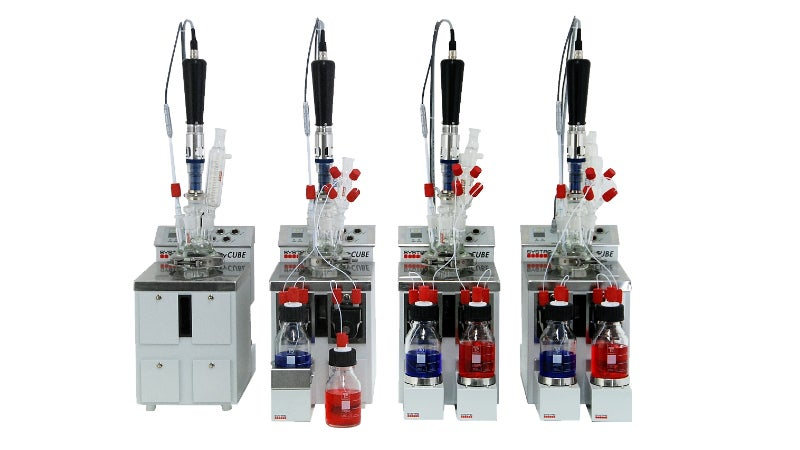FlexyCUBE chemical process development modular tool.