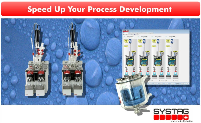 SYSTAG turnkey solutions for automated laboratory reactors and workstations.
