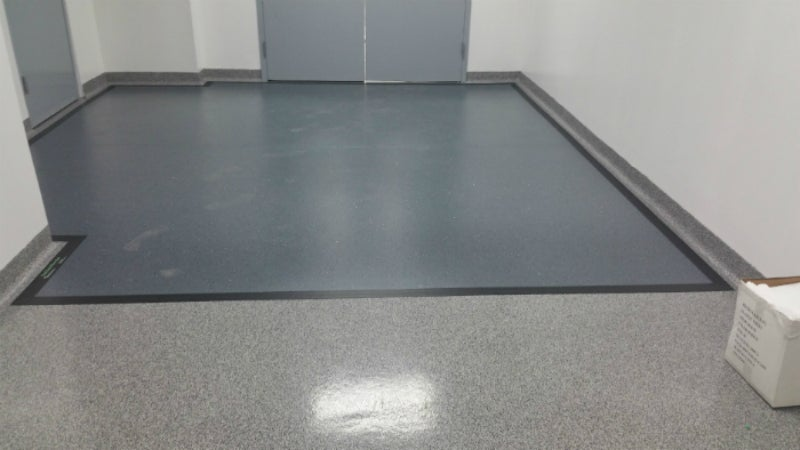 Contaminant protection flooring