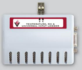 DL2000 data loggers measure temperature and humidity, with an optional channel for an analogue input.