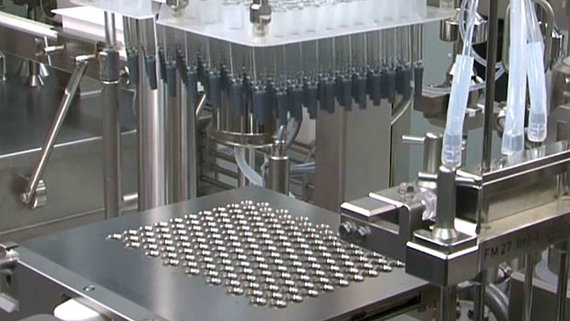 New clinical syringe line reaches double digit batches