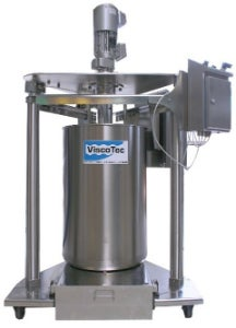 The barrel emptying system ViscoMT-XM features a volumetric conveying pump that is based on the endless piston principle.