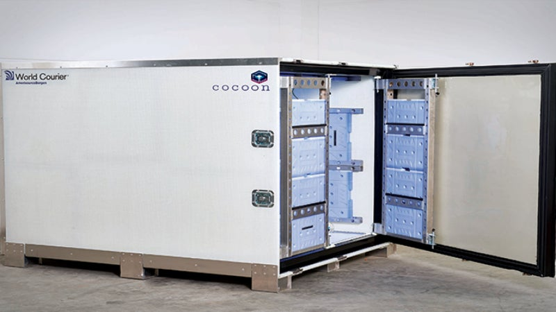 Packaging solution for temperature-sensitive materials
