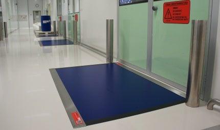 Dycem flooring