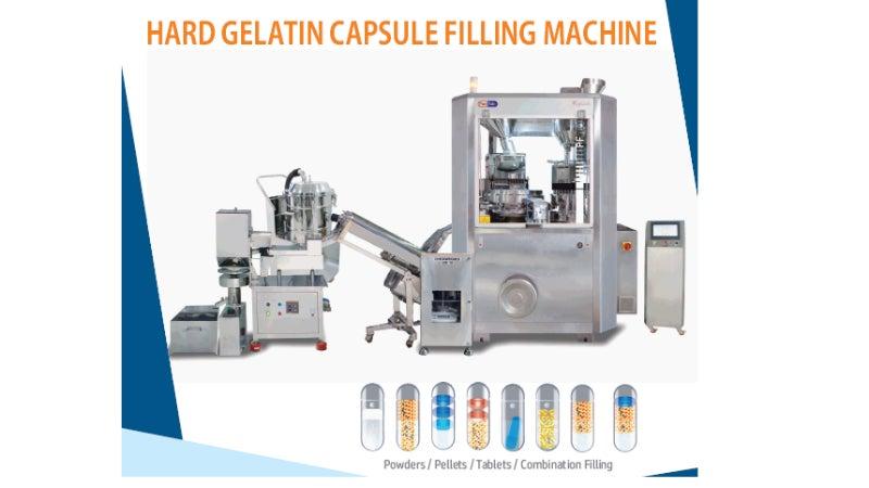 Pacifab capsule filling machine range