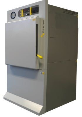 The QCS front loading autoclave.