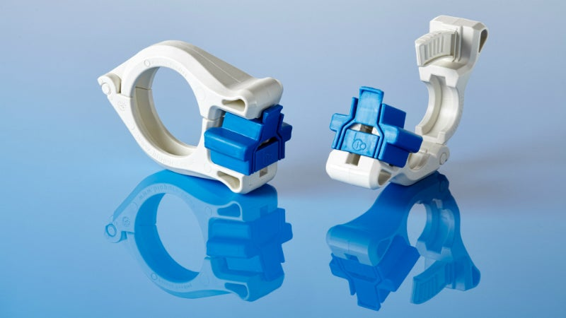 Sanitary Tri-Clamp for single-use fluid path applications