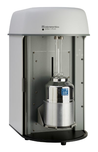 Micromeritics' TriStar II Plus is a fully automated, three-port surface area and porosity analyser.